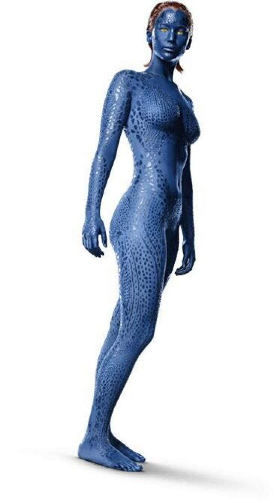 Jennifer Lawrence        X-Men   Days of Future Past    Promotional    X Men Days Of Future Past Mystique Jennifer Lawrence