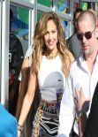 Jennifer Lopez - Filming a FIFA World Cup Music Video in Ft. Lauderdale - February 2014