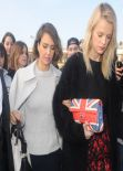 Jessica Alba - Arrives at The Nina Ricci Catwalk Show At Paris Fashion Week - February 2014
