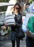 Jessica Alba at Gwen Stefani