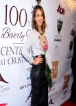 Jessica Alba on Red Carpet - Beverly Hills 100th Anniversary Celebration - February 2014