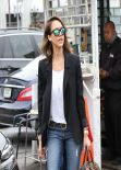Jessica Alba Street Style - Out in Los Angeles, February 2014