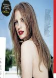 Jessica Chastain - Grazia Magazine (Italy) - March, 2014 Issue