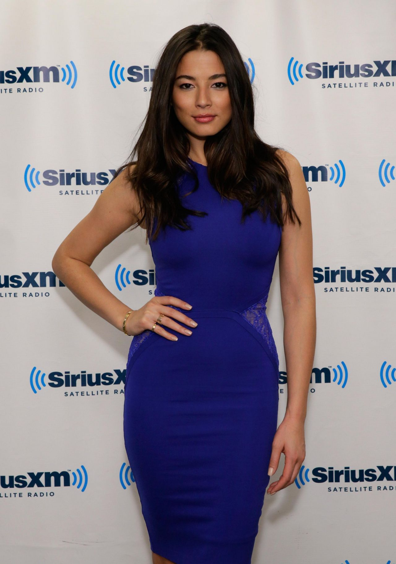 Jessica Gomes - SiriusXM Studios in New York City, February 2014