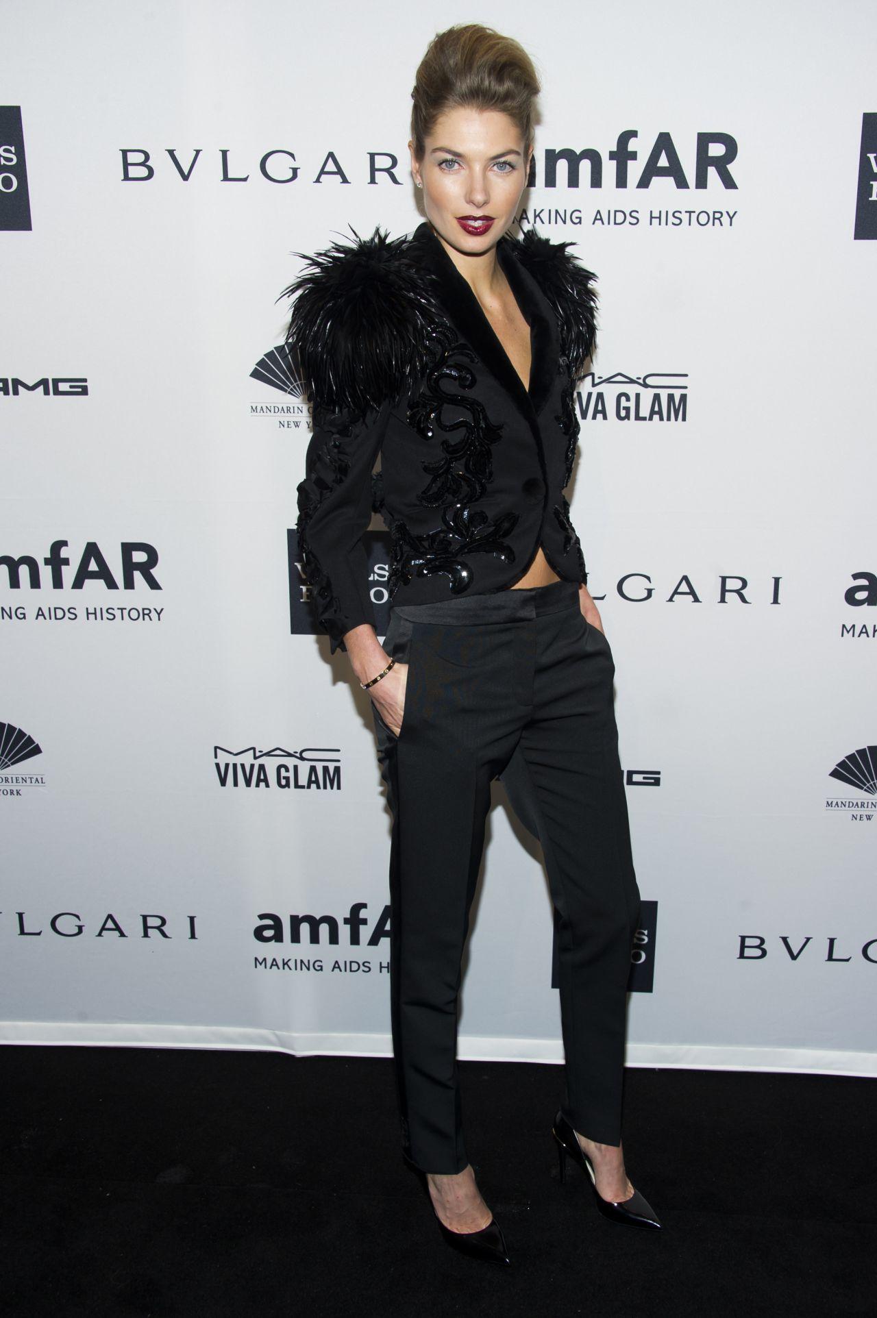 Jessica Hart - amfAR New York Gala 2014