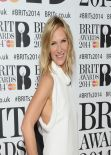Jo Whiley - The BRIT Awards 2014