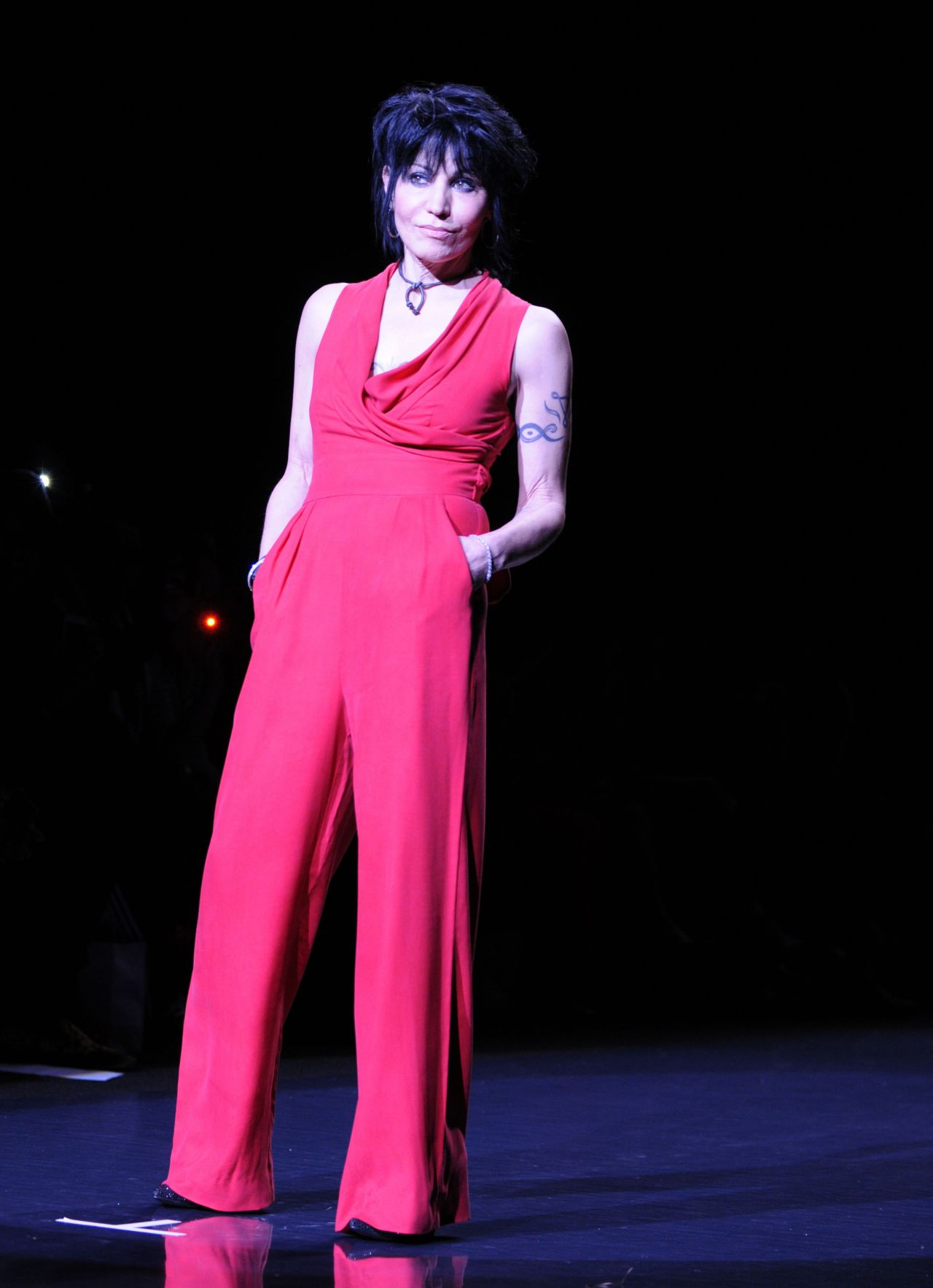 Joan Jett The Heart Truth Red Dress Collection 2014