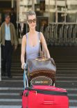 Joanna Krupa - Arrives to LAX Airport - February 2014