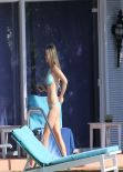 Joanna Krupa Hot in Bikini – Poolside, Miami February 2014
