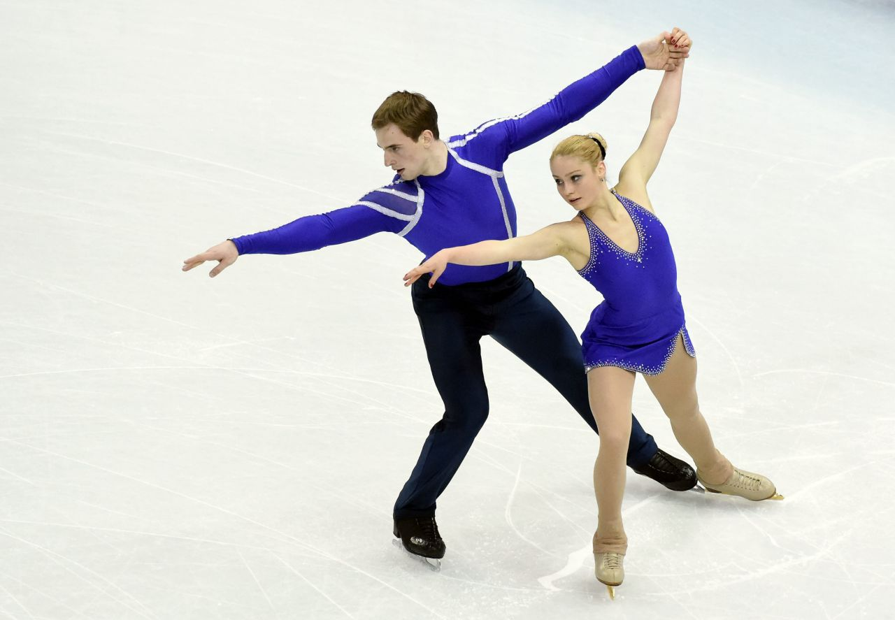 Julia Lavrentieva - Sochi 2014 Winter Olympics - Pairs Short Program