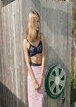 Julia Stegner Photo Shoot - Purple Fashion - Fall 2013 (Marcelo Krasilcic)