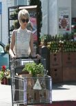 Julianne Hough at Bristol Farms in Los Angeles, February 2014