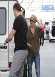Julianne Hough at LAX Airport - Los Angeles, February 2014