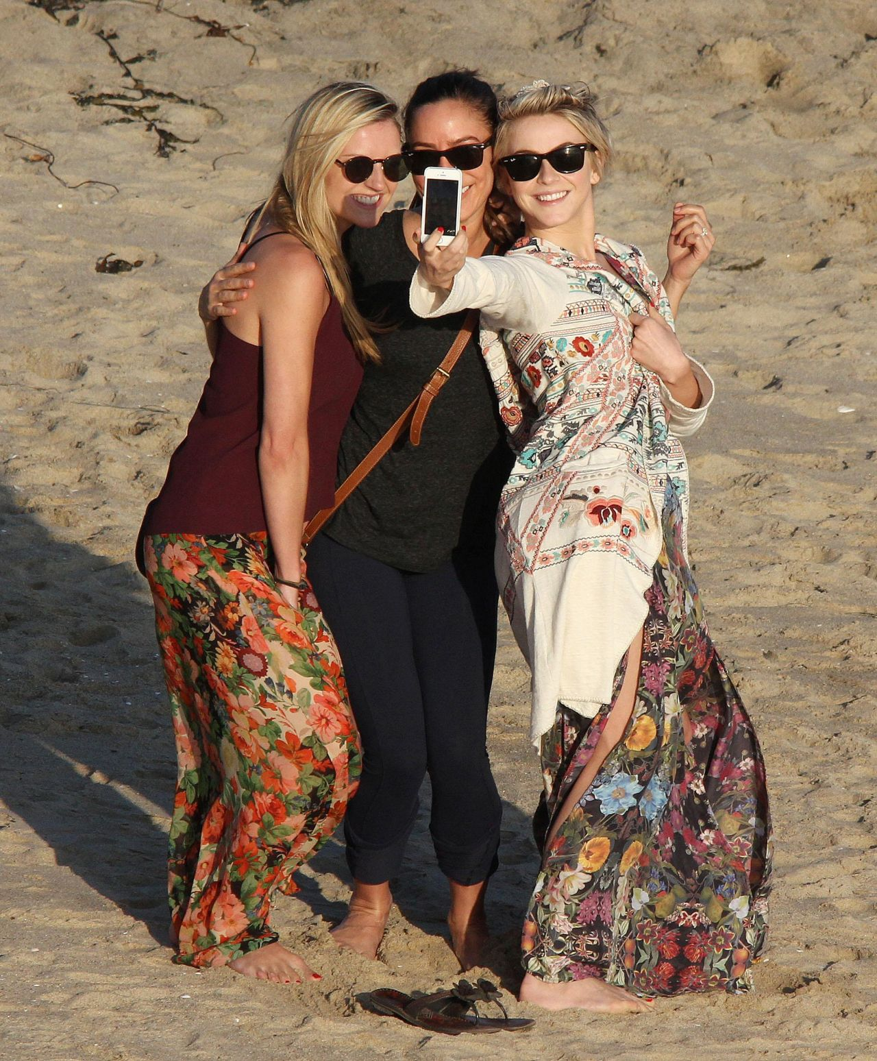 Julianne Hough - Manhattan Beach in California, February 2014