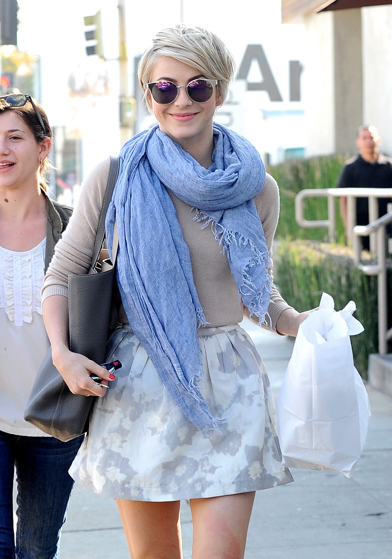 Julianne Hough Out In Los Angeles February 2014