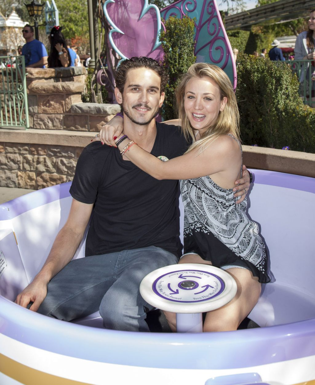 Kaley Cuoco at Disneyland - February 2014