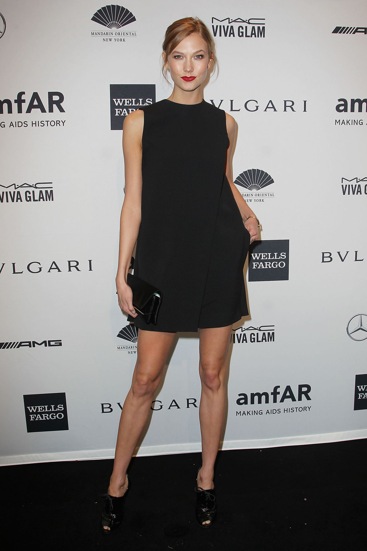 Karlie Kloss - amfAR New York Gala 2014