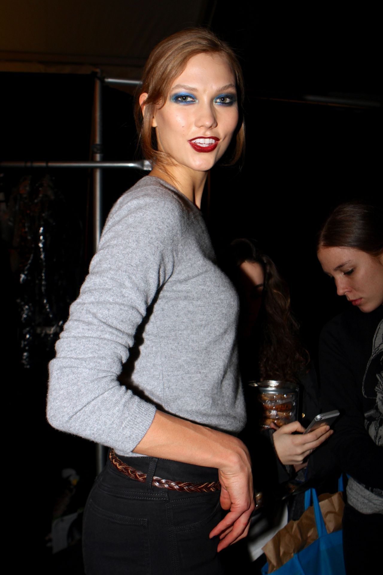 Karlie Kloss - Mercedes-Benz Fashion Week Fall 2014 in New York City, Feb. 2014
