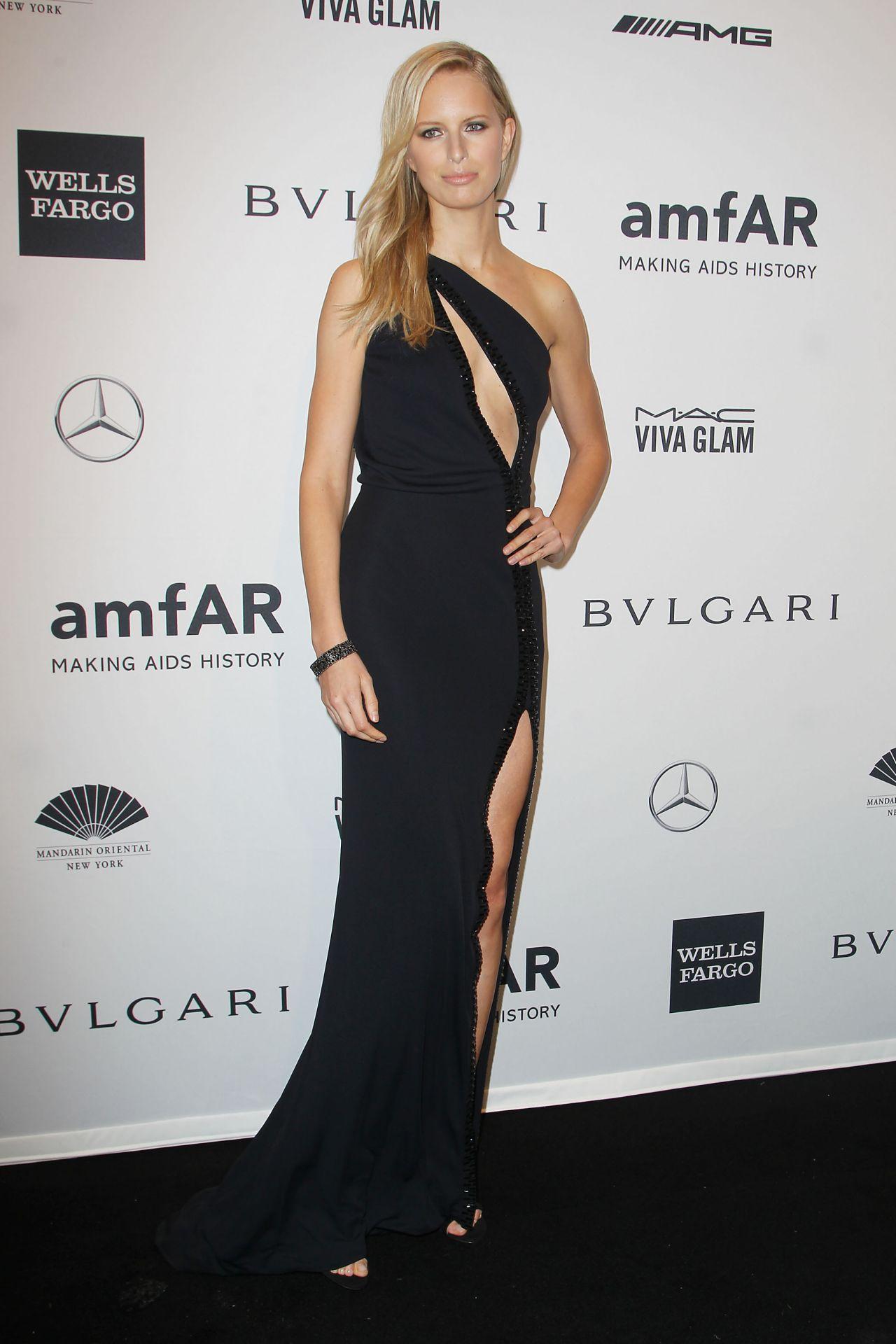 Karolina Kurkova - amfAR New York Gala 2014