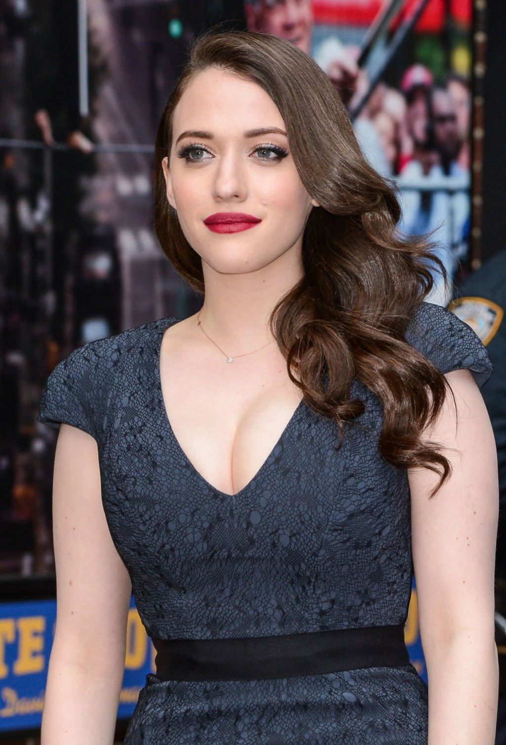 Kat Dennings – Late Show with