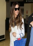 Kate Beckinsale - LAX airport in Los Angeles, February 2014
