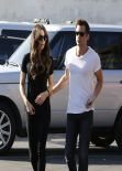 Kate Beckinsale Street Style - Shopping in Los Angeles - February 2014