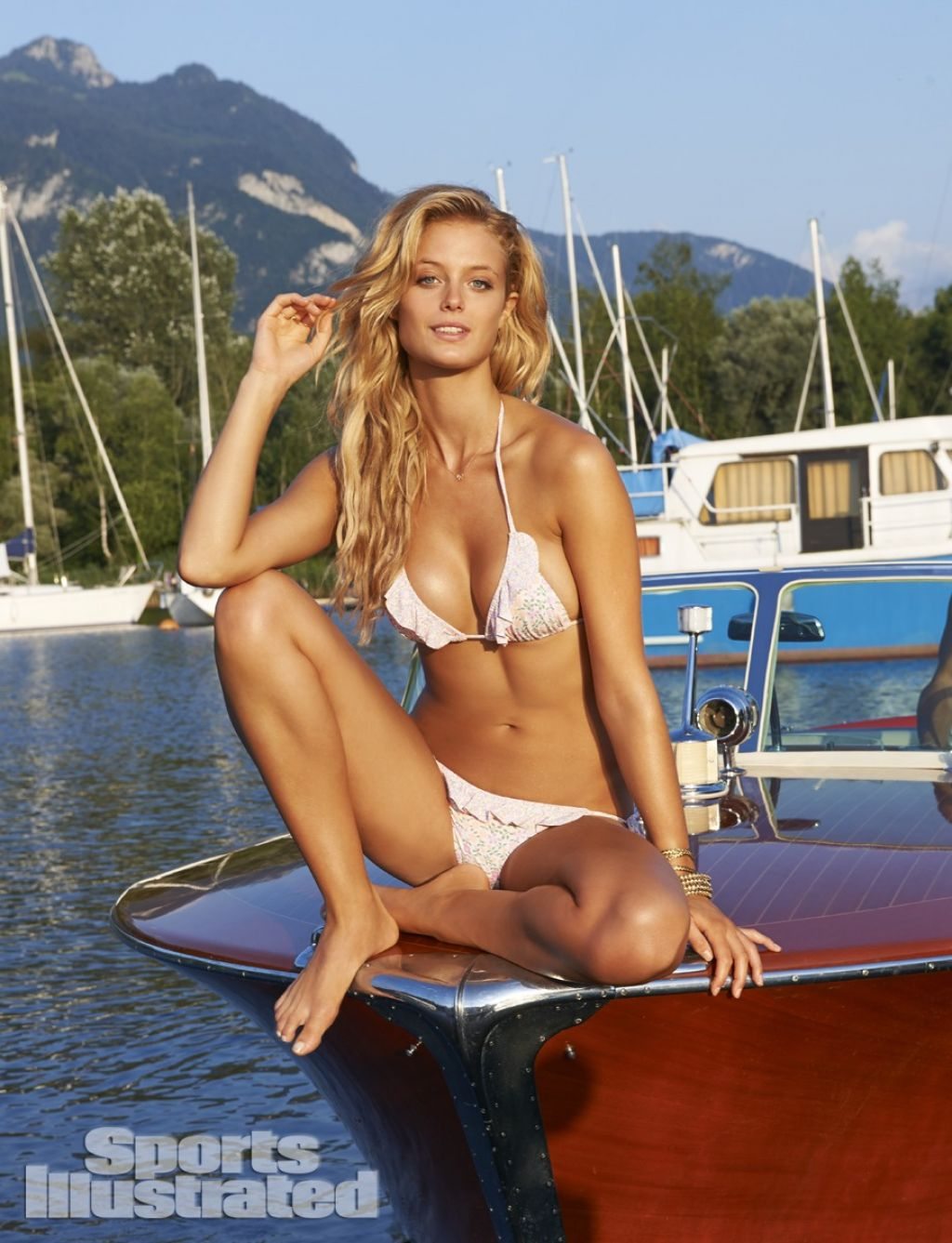Kate Bock In Bikini Sports Illustrated 2014 Swimsuit Issue