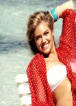 Kate Upton Hot in Bikini - Beach Bunny on Cover for Sports Illustrated Swimsuit 2014