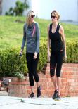 Kate Upton is Fat - Jogging (walk) With a Friend - February 2014