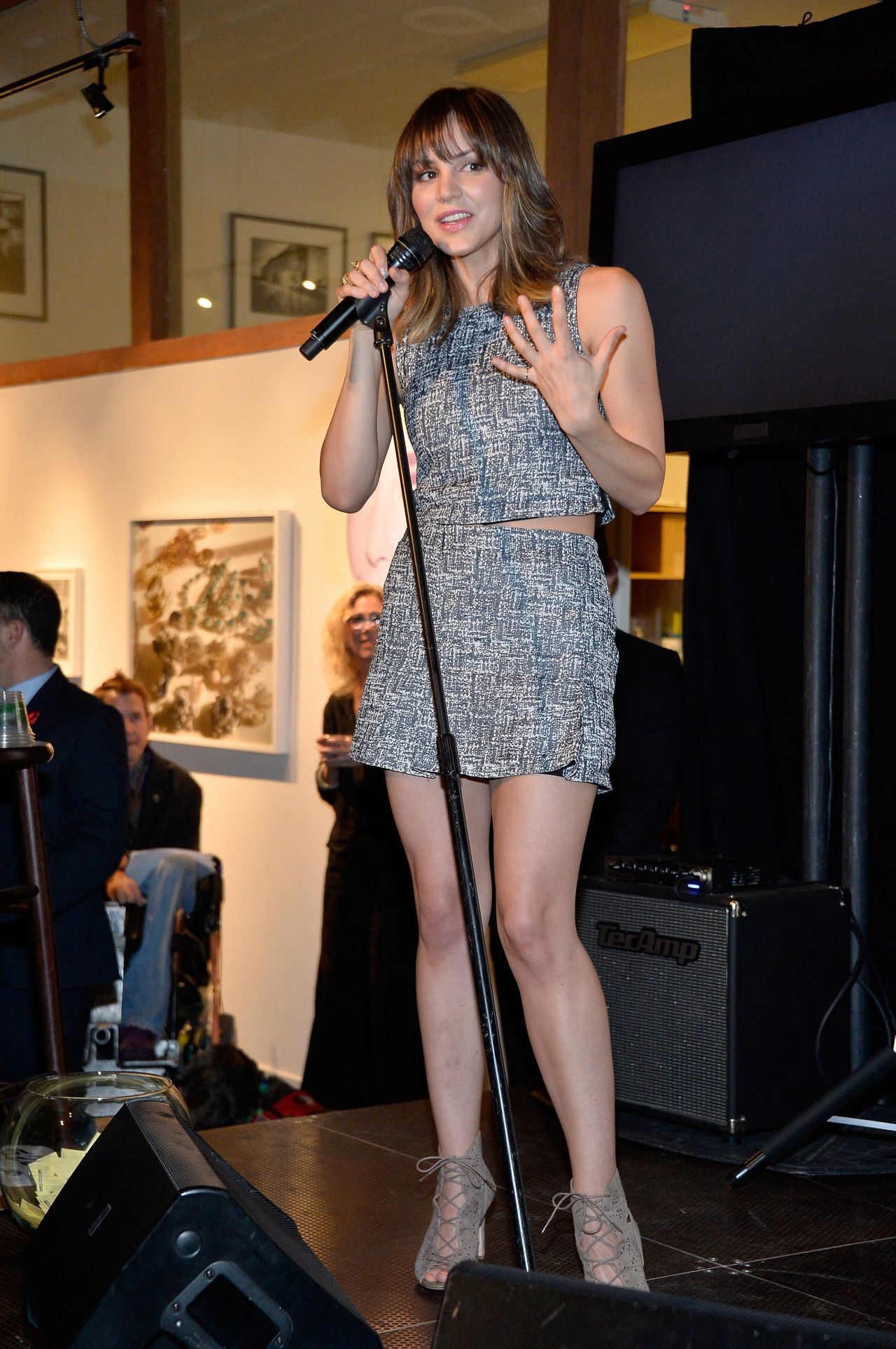 Katharine McPhee - The Elizabeth Taylor AIDS Foundation Art Auction Benefit in Los Angeles
