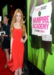 Katherine McNamara at VAMPIRE ACADEMY Premiere in Los Angeles, February 2014