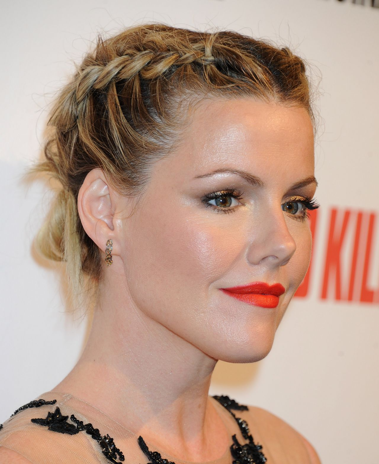 Kathleen Robertson Wearing Lorena Sarbu at 'Bates Motel' Season 2 Premiere Party