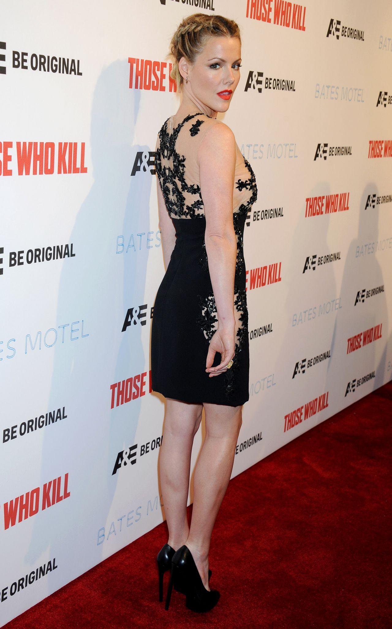 Wearing Lorena Sarbu at 'Bates Motel' Season 2 Premiere Party