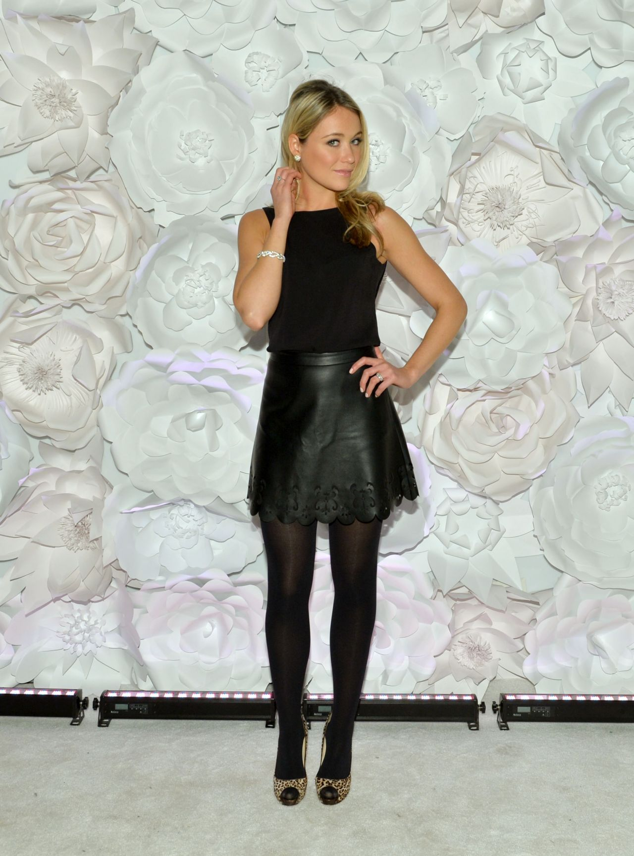 Katrina Bowden at Guggenheim Young Collectors Party