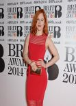 Katy B - The BRIT Awards 2014 at the 02 Arena in London
