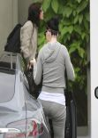 Katy Perry - Booty in Sweats - Out in West Hollywood - February 2014