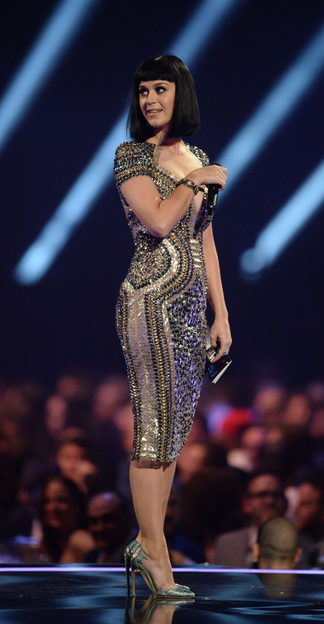Katy Perry in Sexy Dress For The BRIT Awards 2014