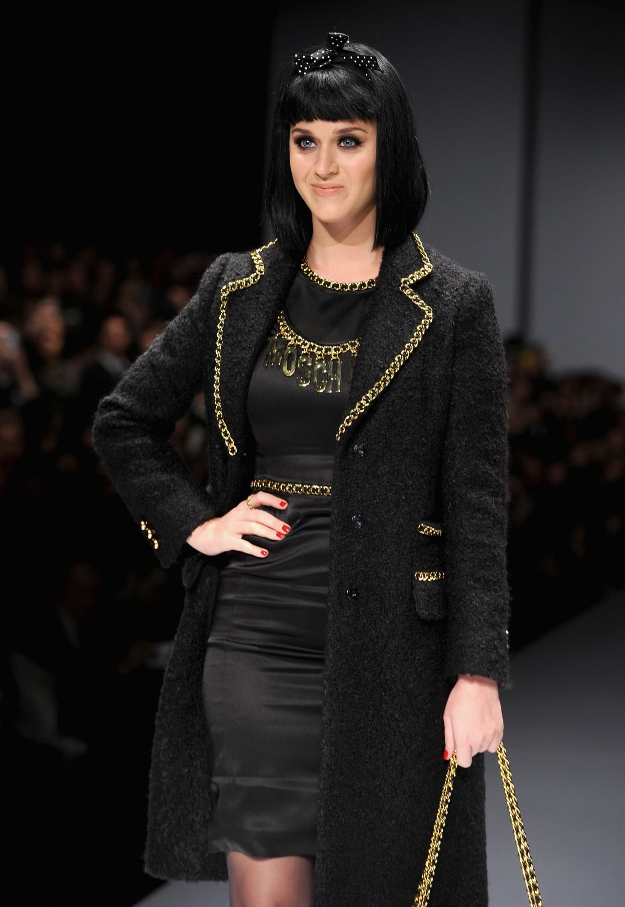 Katy Perry - Moschino Show in Milan, February 2014