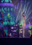 Katy Perry Performing on 2014 BRITS Live Show