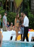 Kelly Brook Bikini Candids - in Miami - February 2014