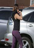 Kelly Brook Gym Style - West Hollywood, February 2014