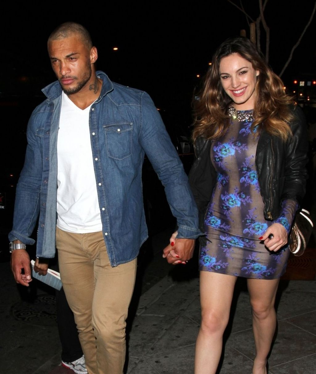 Kelly Brook Night Out Style - 1 OAK Nightclub in West Hollywood