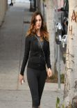 Kelly Brook Street Style - Out in Los Angeles, February 2014