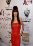 Kelly Hu - 100th Anniversary of Beverly Hills, February 2014