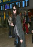 Kendall Jenner - Charles de Gaulle Airport in Paris