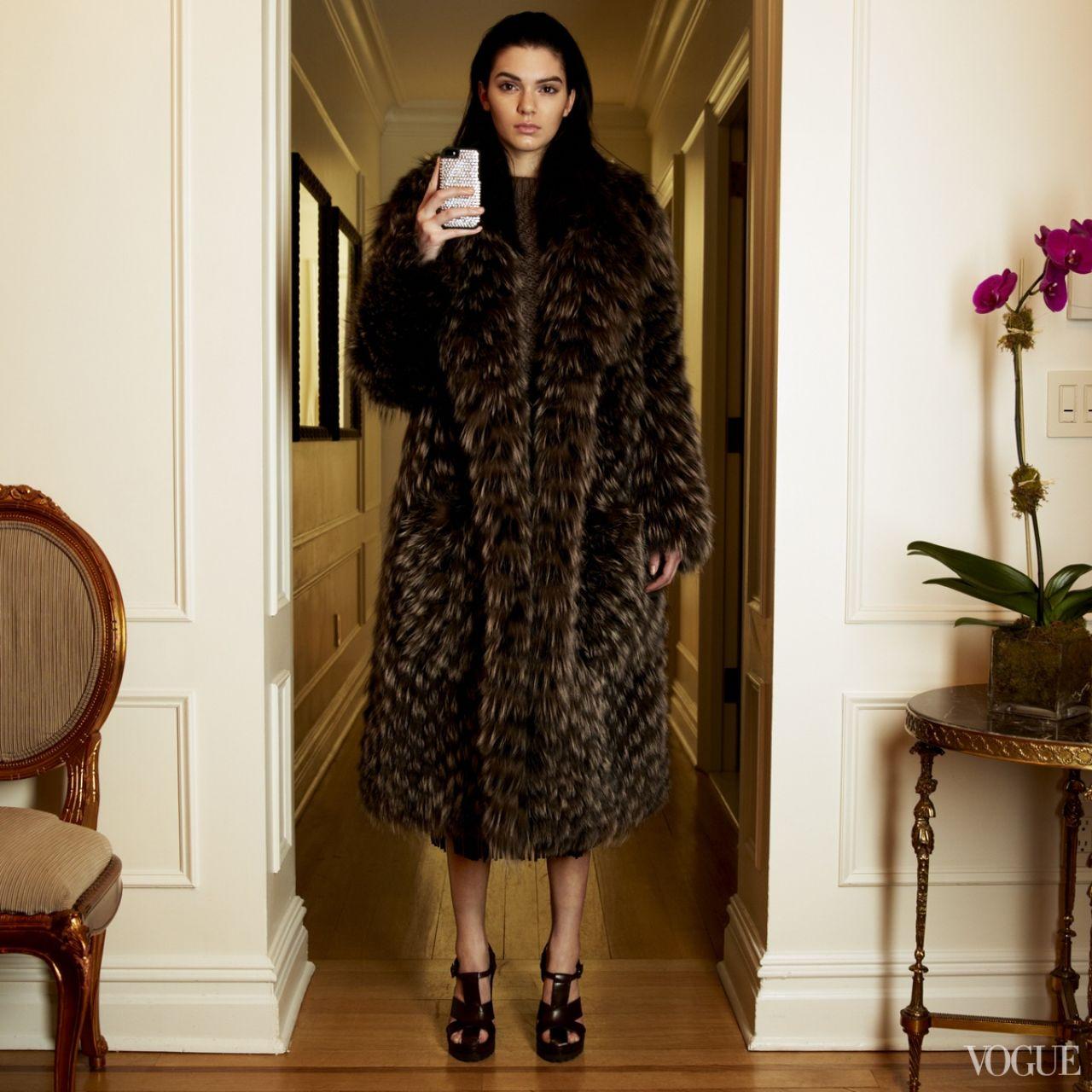 Kendall Jenner Fashion Week Instagram Shoot For Vogue