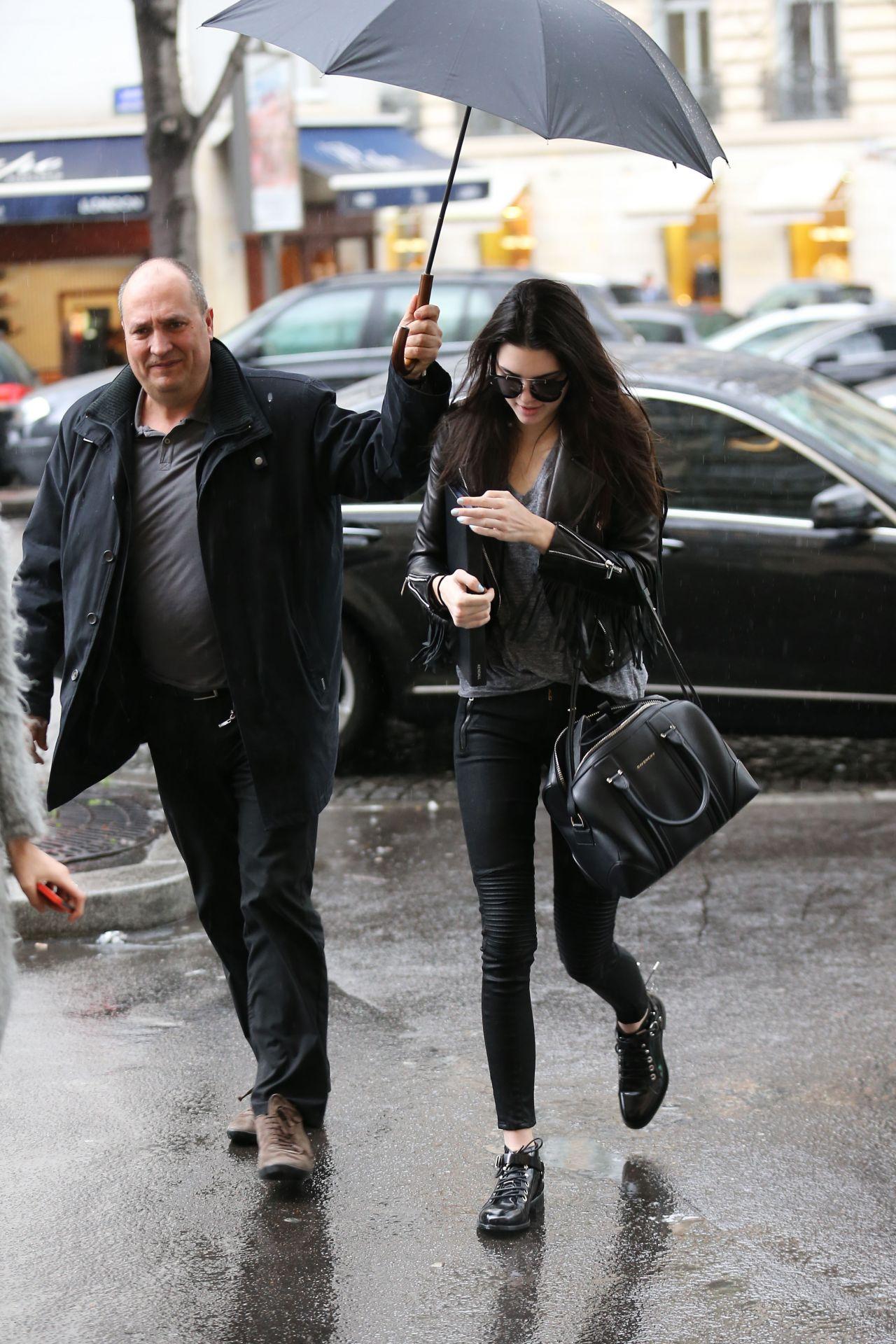 Kendall Jenner In Paris France February 2014
