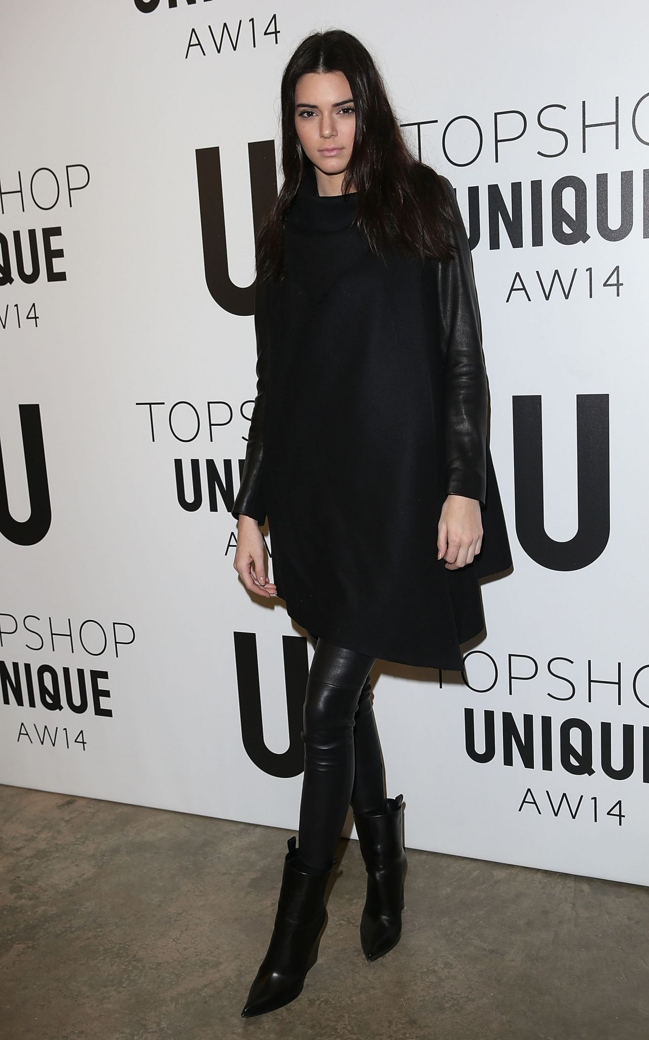 Kendall Jenner - Topshop Unique Fashion Show - London, February 2014