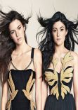 Kendall & Kylie Jenner - Marie Claire Magazine (Mexico) - March 2014 Issue