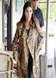 Khloe Kardashian and Kourtney Kardashian - Woodland Hills, January 2014